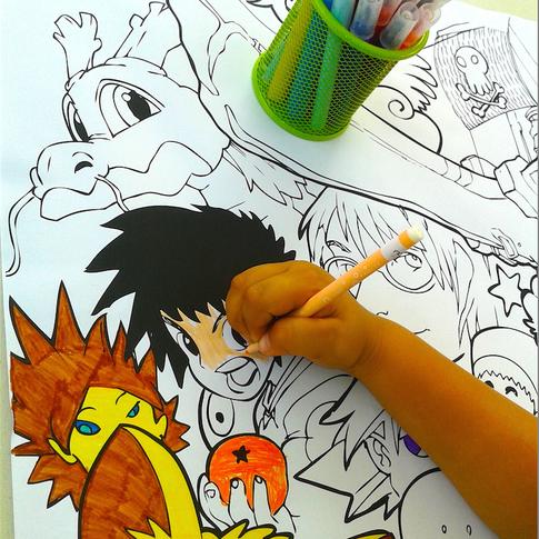 Atelier manga & BD