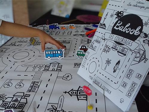 Kit Mon circuit à colorier