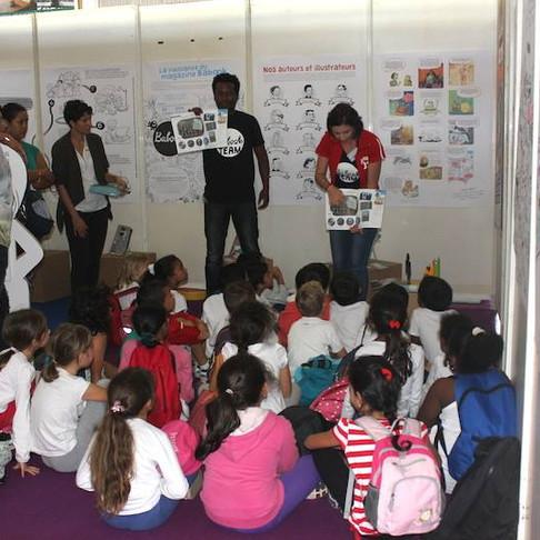 Atelier presse - Salon du livre de jeunesse - Le Port