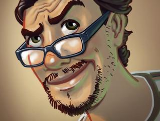 Portrait de l'illustrateur David D'Eurveilher
