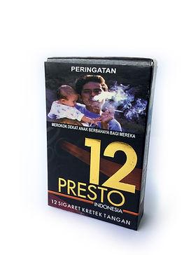 Rokok Kretek Cengkir Gading Presto 12 (Hitam)