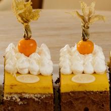 Gateau De Voyage com Chocolate branco