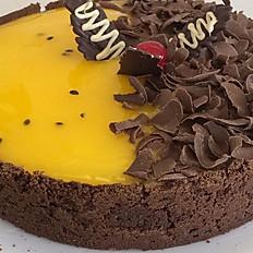 Dueto de maracujá com chocolate (casquinha)