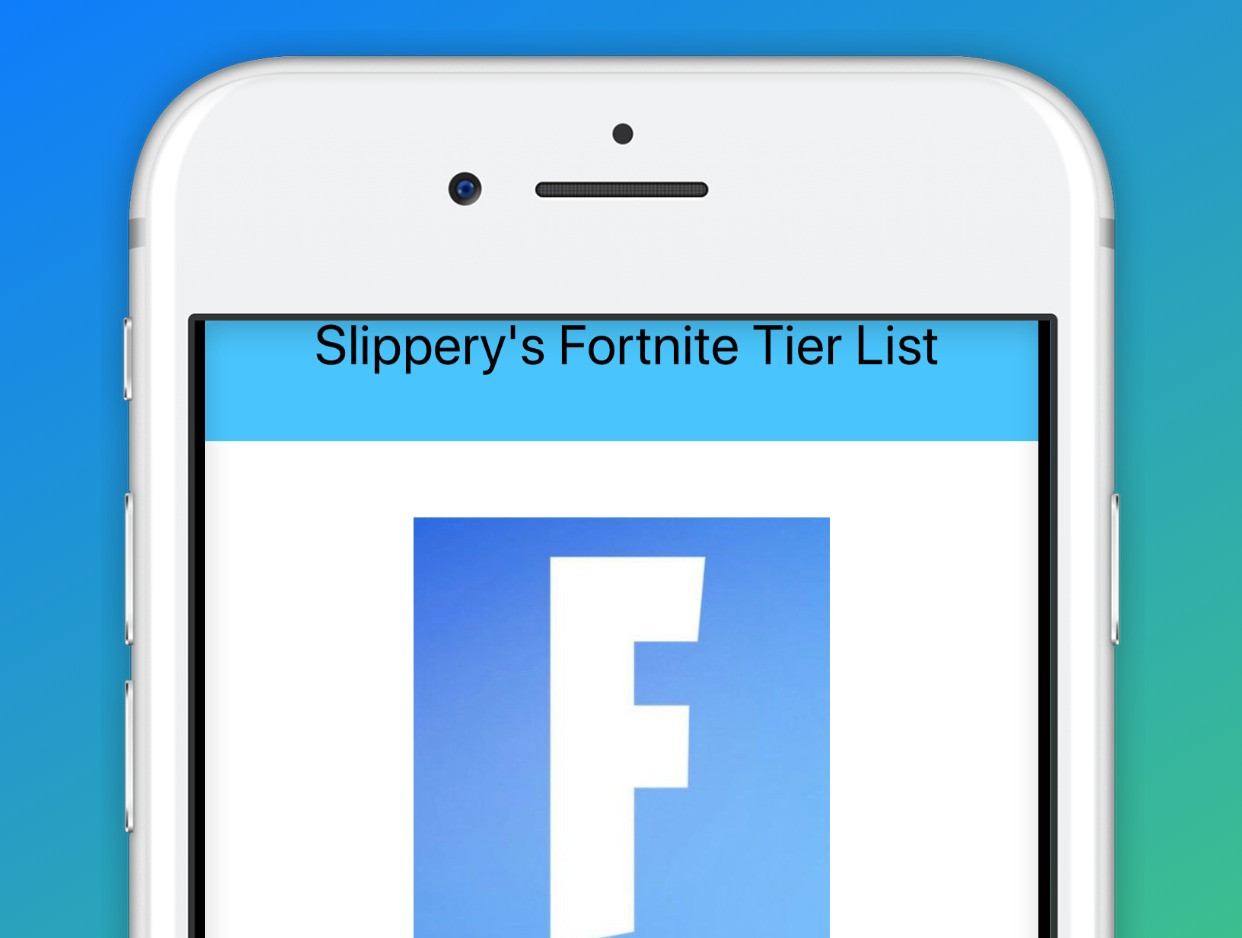 Slippery Tier List
