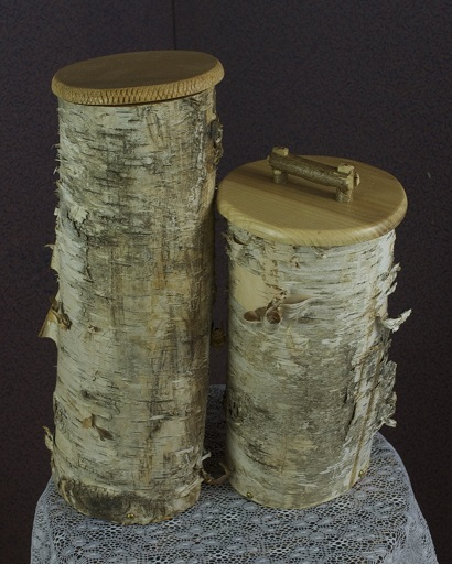 birch containers