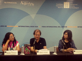 Martín Kohan presenta El Telo de papá en la FIL de Guadalajara