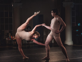 El cuerpo del bailarín, al desnudo
