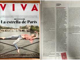 Columna sobre Ludmila Pagliero en la Revista Viva