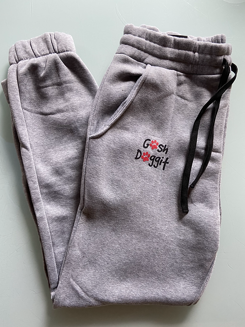 Limited edition GoshDoggit Red Paw Sweatpants