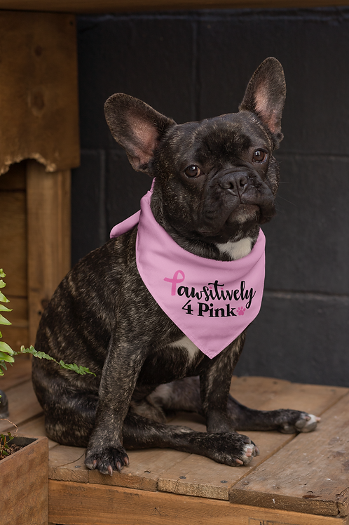 Pawsitively 4 Pink Bandana