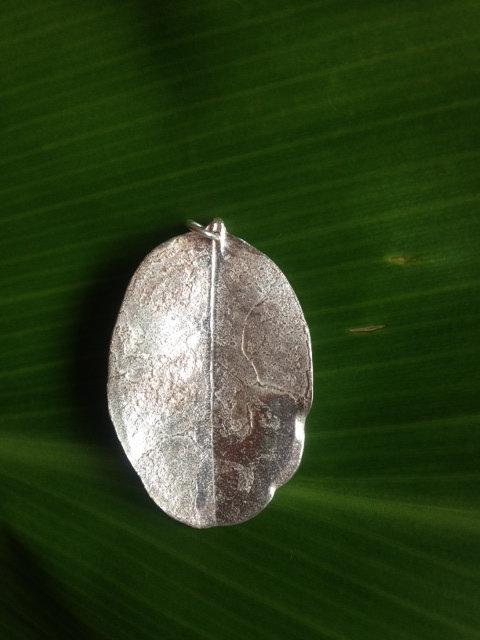 Ohia Leaf Pendant