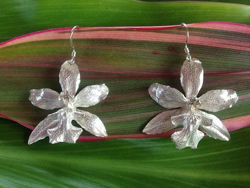 Oncidium Variety Orchid Earrings