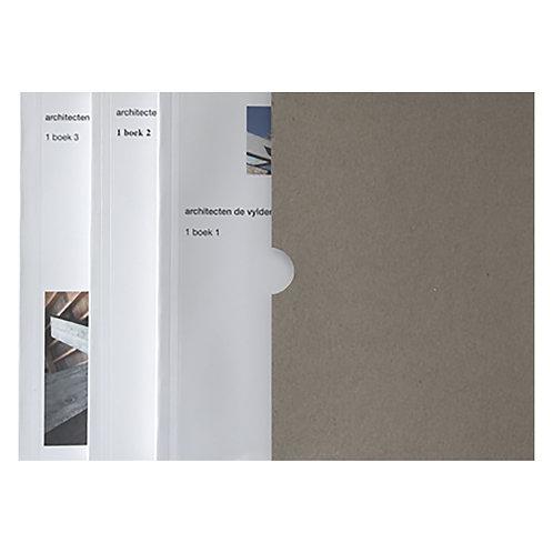 BOX 1 boek 1 - 1 boek 2 - 1 boek 3 / Architecten De Vylder Vinck Taillieu