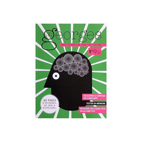 """Magazine Georges """"Cerveau"""""""