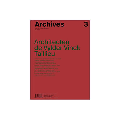 "ARCHIVES 3 ""DE VYLDER VINCK TAILLEU"""