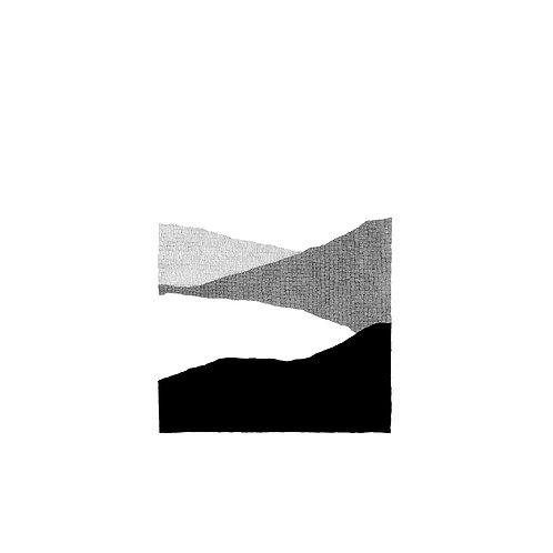 Montagnes III by Gabrielle Vinson