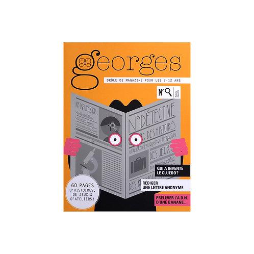 """Magazine Georges """"Detective"""""""