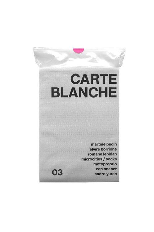Carte Blanche #3
