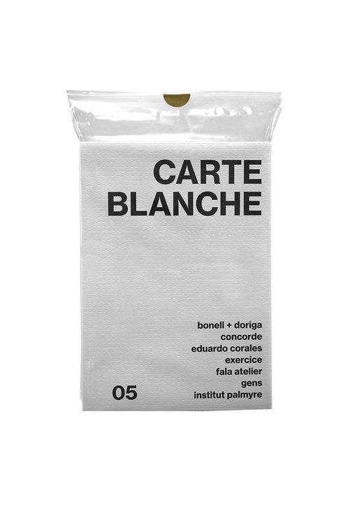 Carte Blanche #5