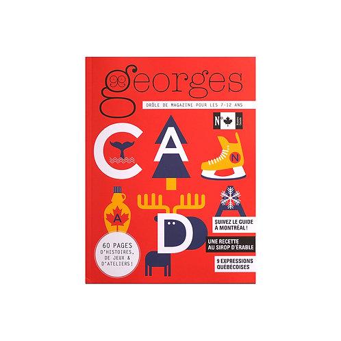 """Magazine Georges """"Canada"""""""