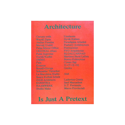 Carnets - Architecture is just a pretext