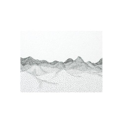 Montagnes I by Gabrielle Vinson