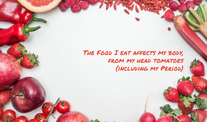 The Food I Eat Affects My Body, From My Head Tomatoes (Including My Period)