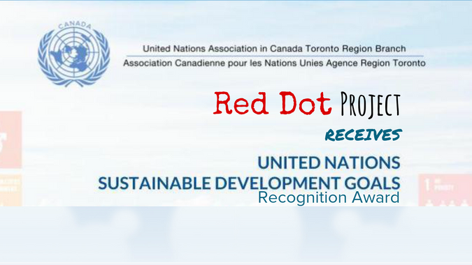 Red Dot Project Receives UN Sustainable Development Goals Recognition Award