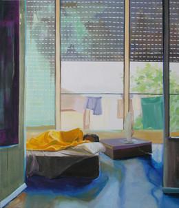 NItzan Asleep in Yoav's House