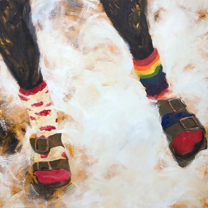 Her Snow Socks