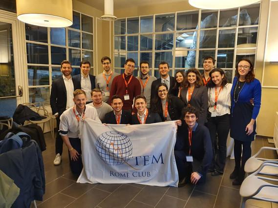QTEM Roma Club with Deloitte Rome