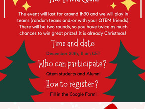 Join us for the Global Christmas Event!🎁