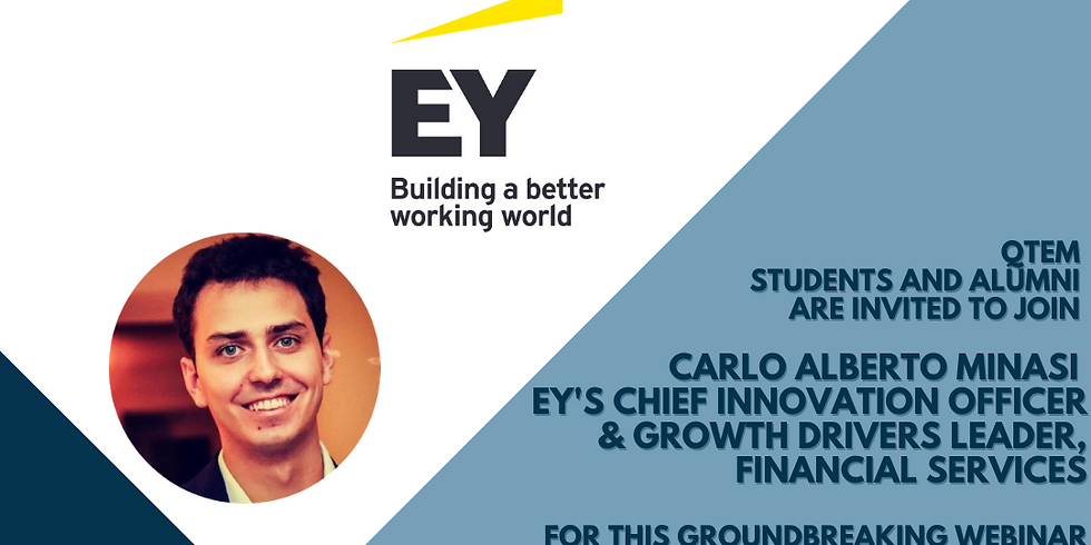 Working in the Fintech ecosystem: insights, challenges and career paths. EY Webinar