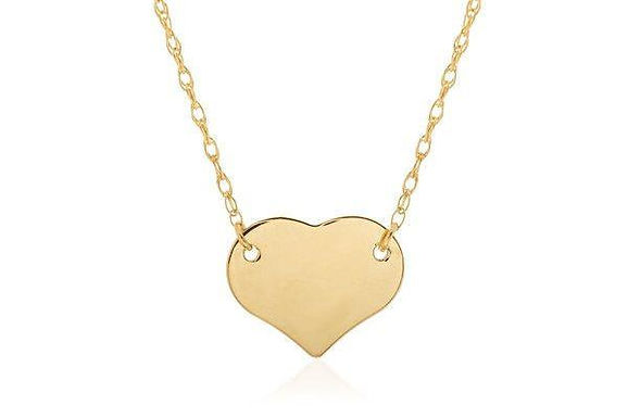 14KY Mini Heart Necklace
