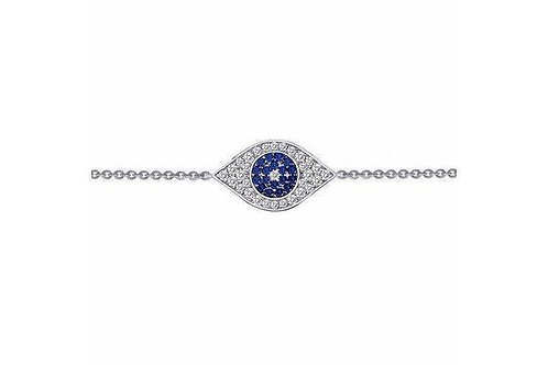 Evil Eye Lafonn Silver Bracelet