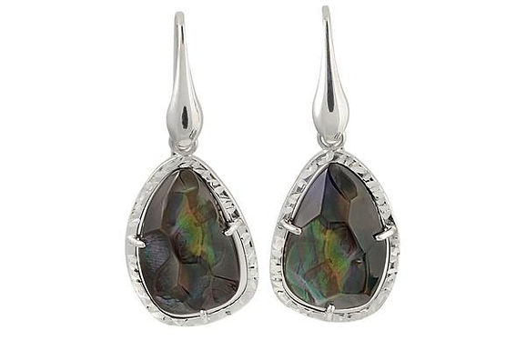 Sterling Silver Mother-of-Pearl Earrings Frederic Duclos