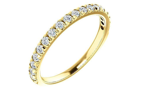 14K 0.50 CTW LG-Diamond French-Set Anniversary / Wedding Band 123883