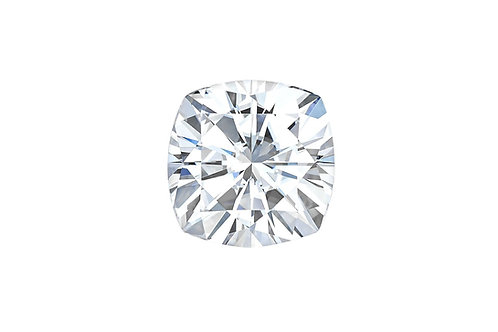 Cushion Cut Moissanite Colorless