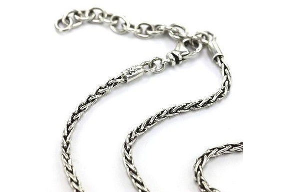 925 Silver Wheat Chain N100