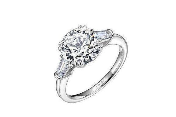 R0183CLP07 lafonn three stone ring