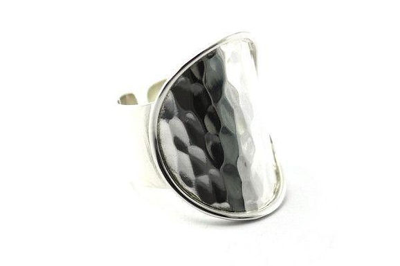 Hand Made Sterling Silver Wide Ring