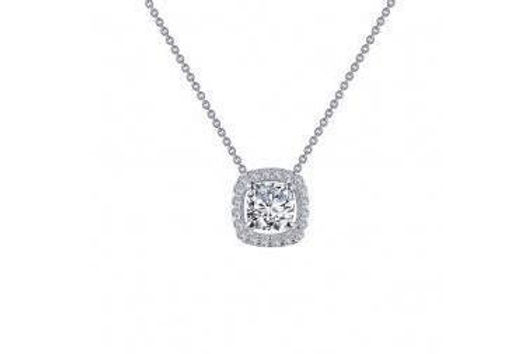 """HALO SILVER NECKLACE 18"""" N0100CLP"""