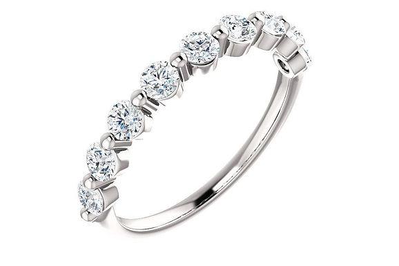 14KW 0.70CTW Diamond Anniversary - Wedding Band