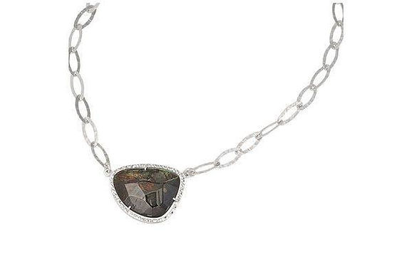 Sterling Silver Mother-Of-Pearl Necklace Frederic Duclos