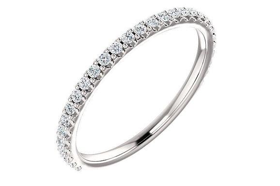 14K 1/4 CTW Diamond Anniversary - Wedding  Band 123041