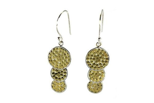 K A L A 925 S. Silver- 18K Gold Vermeil Earrings