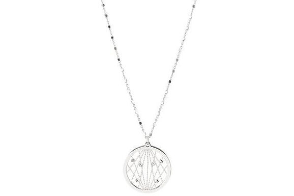 STERLING SILVER MILKY WAY NECKLACE