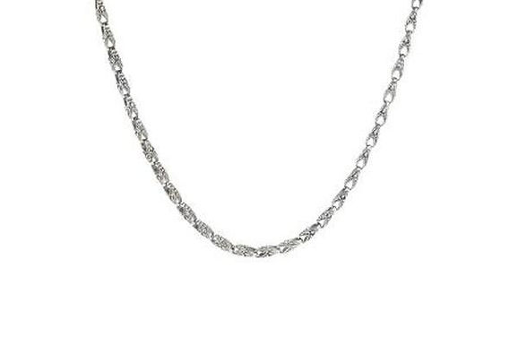SILVER S NECKLACE WITH BALINESE CARVED LOBSTER LINKS
