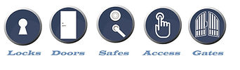 Lock systems service icons