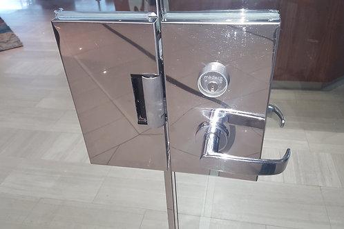 All Glass Door Mortise Lock